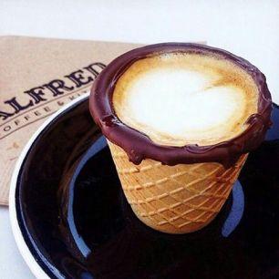 Afbeeldingsresultaat voor coffeeinacone