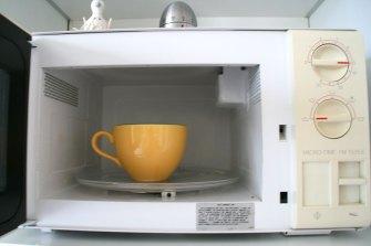 Afbeeldingsresultaat voor thee in microgolf