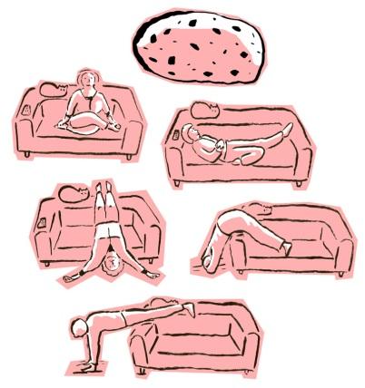 Afbeeldingsresultaat voor sofa yoga